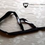 szelki SLED FAM rozmiar XL czarne