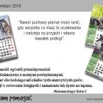Malamuci kalendarz 2016